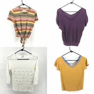 Lot of 4 Size Small Shirts